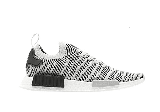 White NMD R1 Primeknit Shoes adidas US Cheap NMD Primeknit