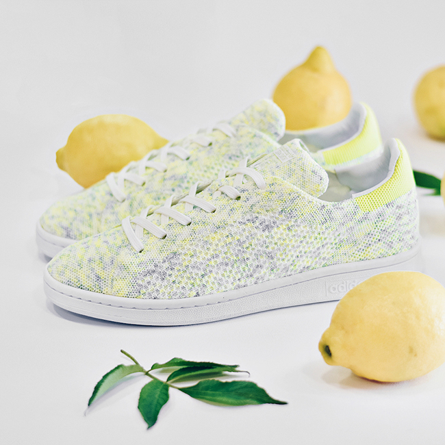adidas Stan Smith Primeknit Solar Yellow