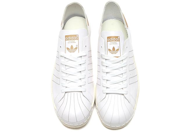 adidas Superstar 80s Decon White