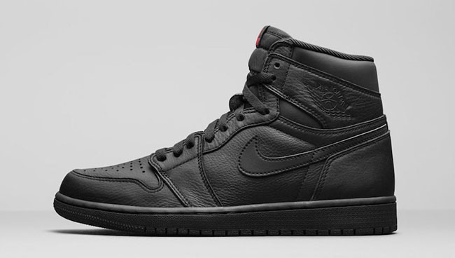 Air Jordan 1 High OG Premium Essentials Triple Black