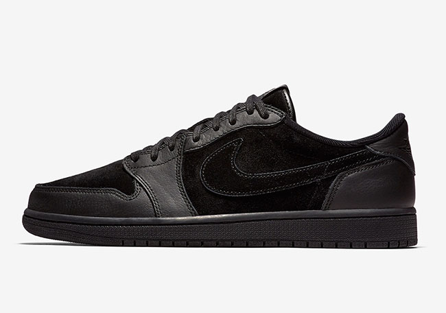 Air Jordan 1 Low OG Premium Tonal Black