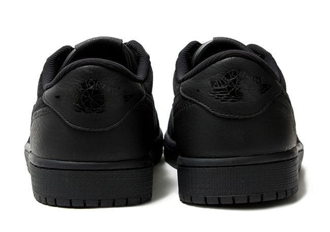 Air Jordan 1 Low Premium Triple Black