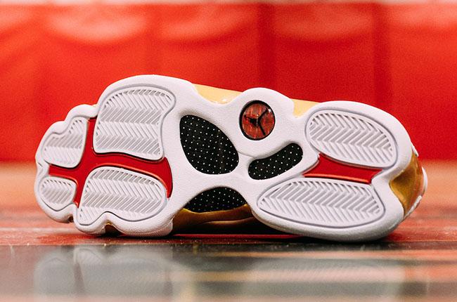Air Jordan 13 DMP Finals Pack White Gold