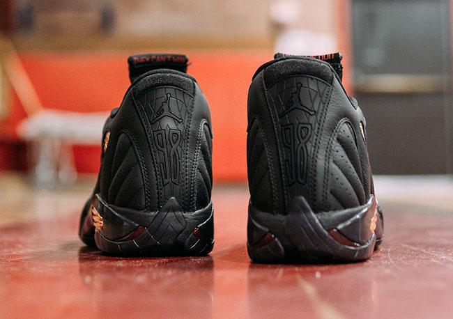Air Jordan 14 DMP Finals Pack Black Gold