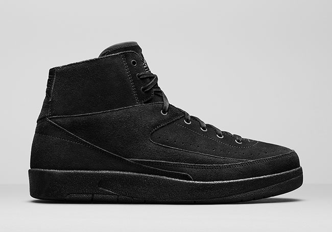 Air Jordan 2 Decon Triple Black July 2017