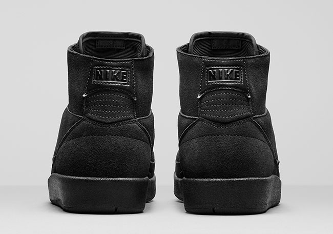 Air Jordan 2 Decon Triple Black Release Date