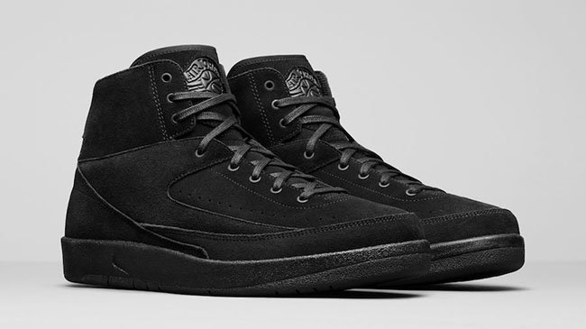 Air Jordan 2 Decon Triple Black
