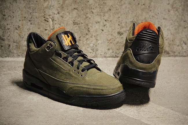 Air Jordan 3 UNDFTD Custom