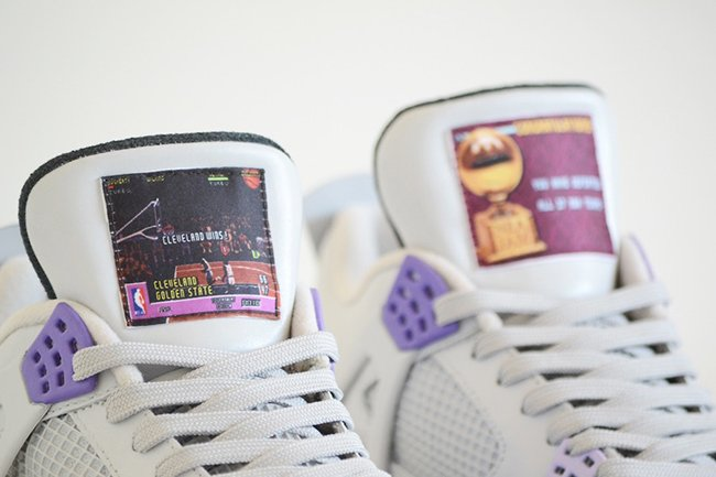 Air Jordan 4 SNES US NBA Jam Custom