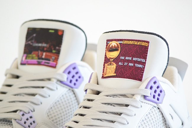 Air Jordan 4 SNES US NBA Jam Custom