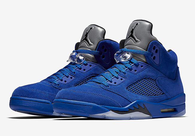 Air Jordan 5 Blue Suede 136027-401 Release Date