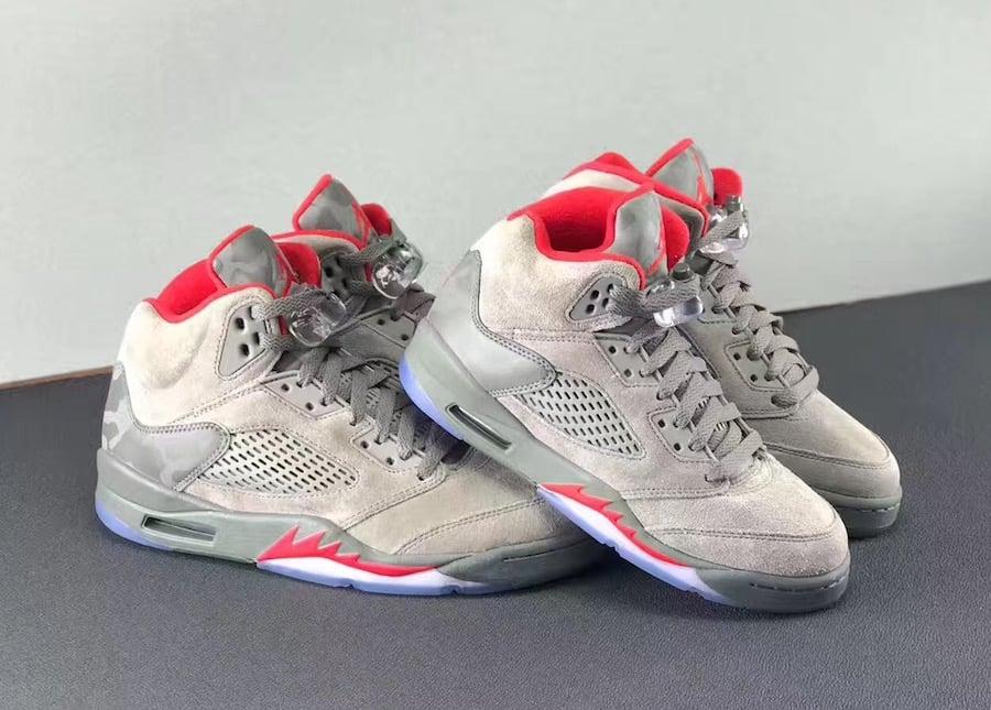 Air Jordan 5 Camo Dark Stucco Release Date