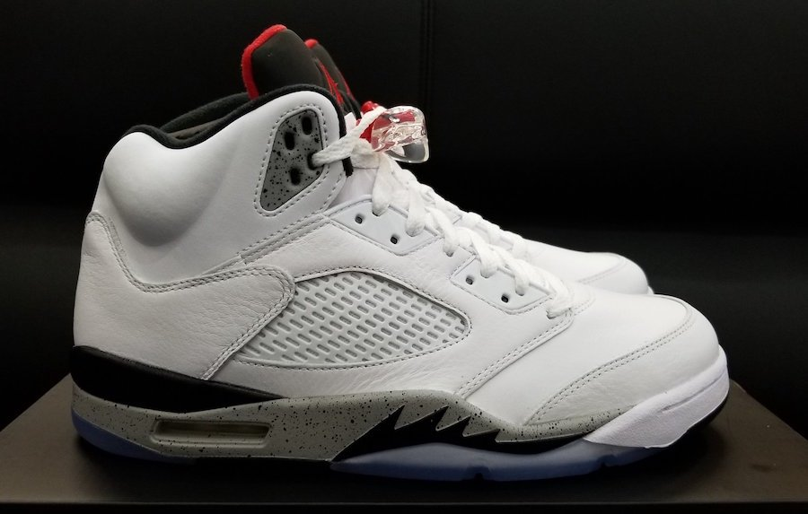 Air Jordan 5 Cement Tech Grey 136027-104