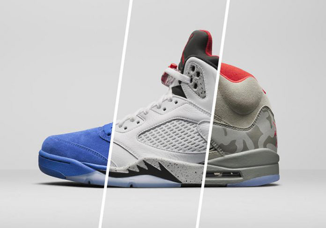 Air Jordan 5 Five for Fall Collection