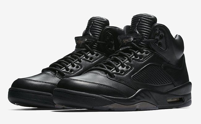 Air Jordan 5 Pinnacle Black 881432-010