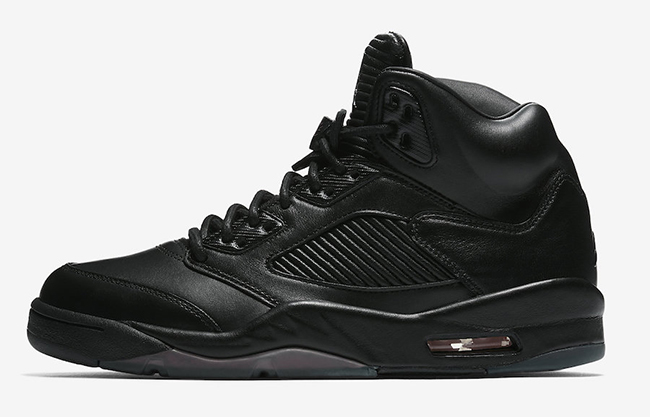 Air Jordan 5 Premium Black July 2017