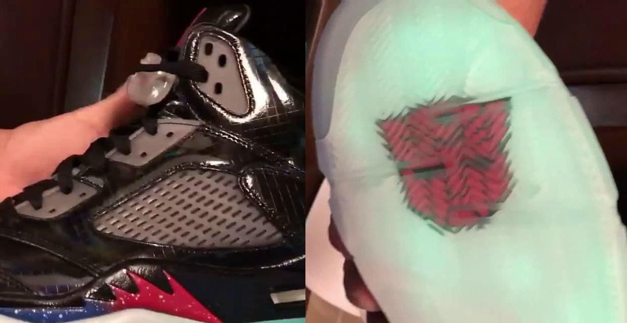 Air Jordan 5 Transformers Mark Wahlberg