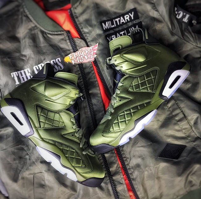 Air Jordan 6 Flight Jacket