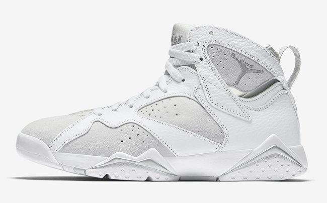 Air Jordan 7 Pure Money Platinum June 2017