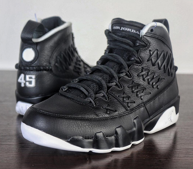 Air Jordan 9 Baseball Glove Pack Black