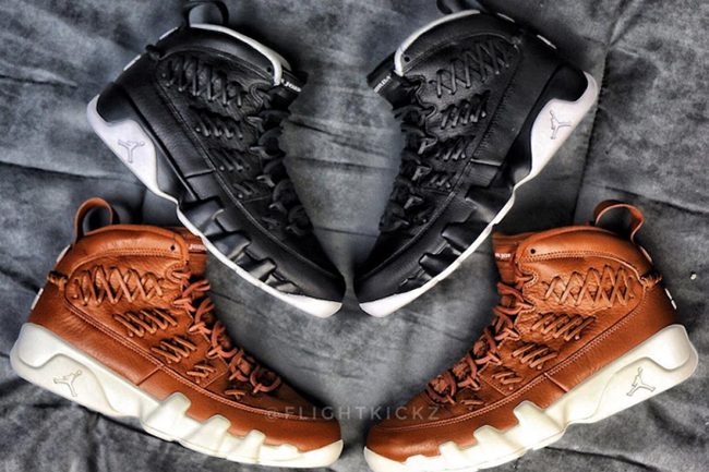 Air Jordan 9 'Baseball Glove' Pack Release Info