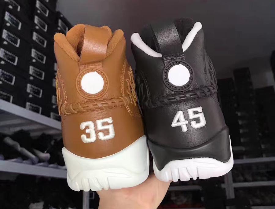 Air Jordan 9 Baseball Glove Brown Black Pack