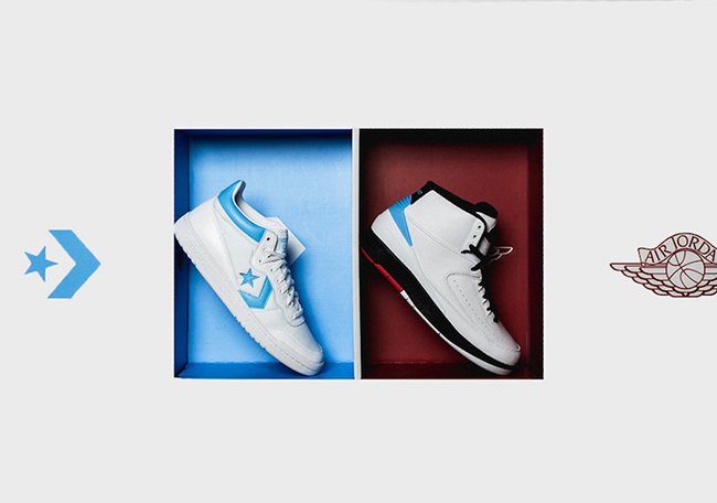 Air Jordan Converse Love of the Game Pack