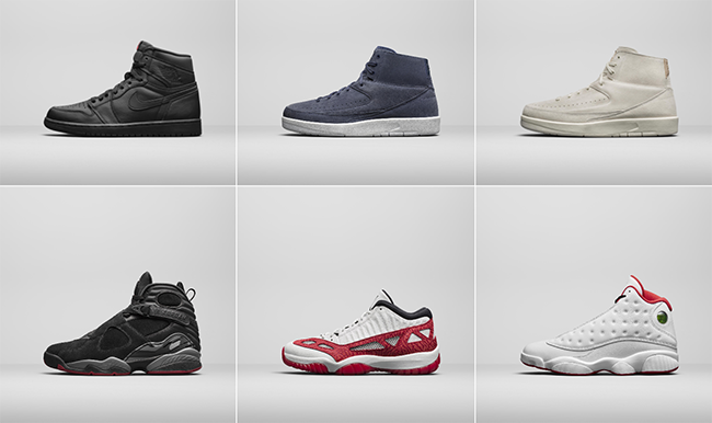 Air Jordan Fall 2017 Collection