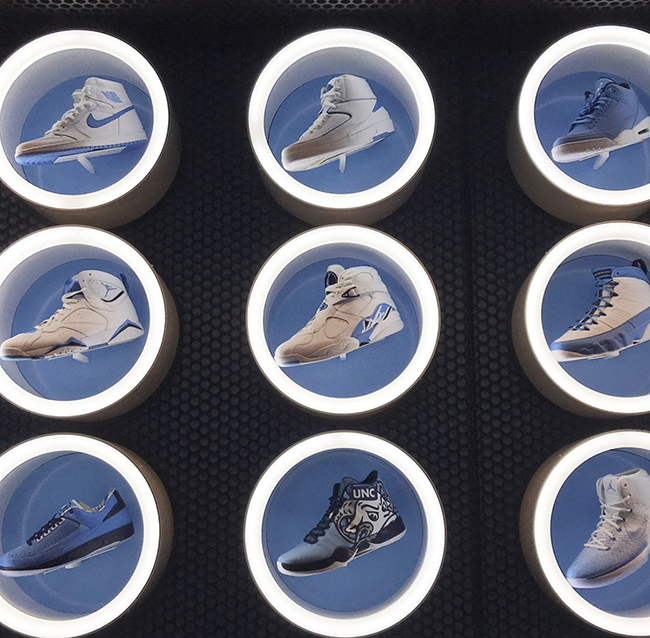 Air Jordan Retro UNC Tar Heels Collection
