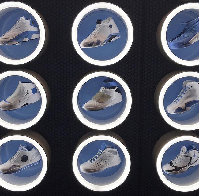 Air Jordan Retro UNC Tar Heels Collection
