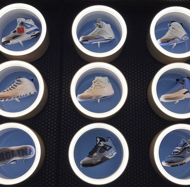 Air Jordan UNC Retro Collection
