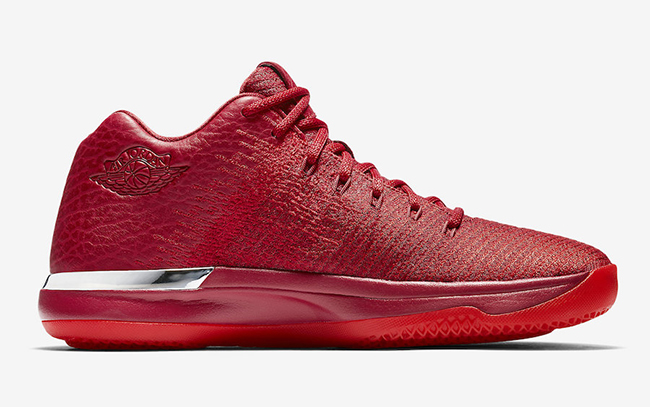 Air Jordan XXX1 Low Chicago Away Gym Red