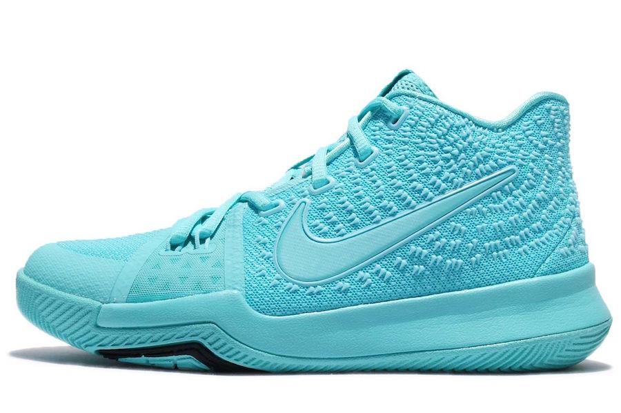 Aqua Nike Kyrie 3 Release Date
