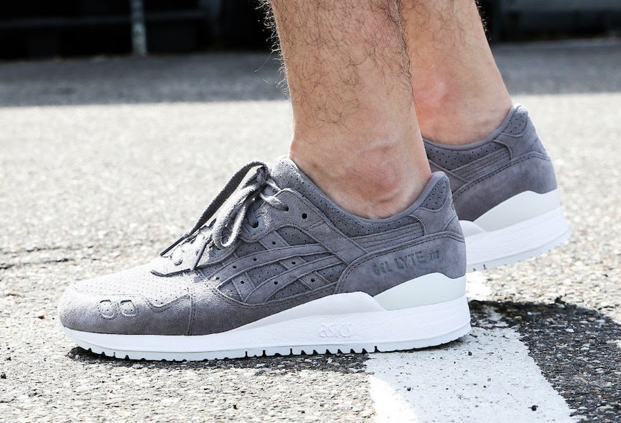 Asics Gel Lyte III Aluminum On Feet 92c6fdd37