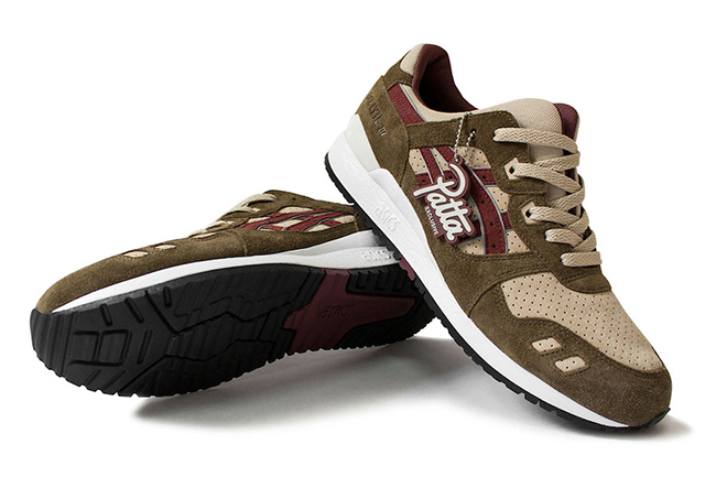 Asics Gel Lyte III Patta Exclusive Release Date