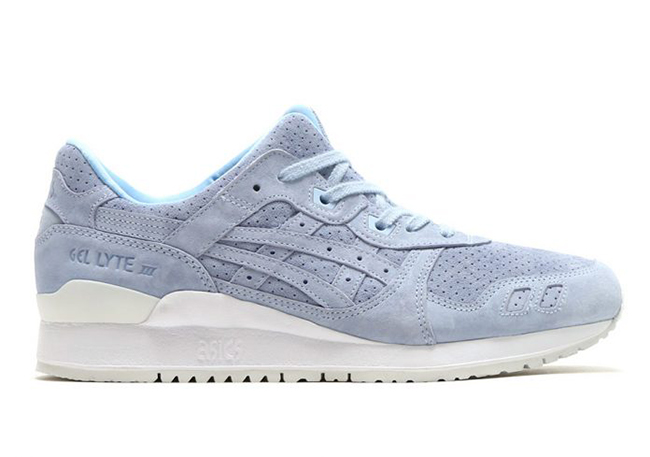 hot sale online a9872 2e83f Asics Gel Lyte III Skyway Blue Suede | SneakerFiles
