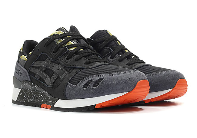 Asics Gel Lyte III Tiger Camo Black
