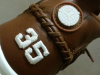 Baseball Glove Air Jordan 9 Brown Leather