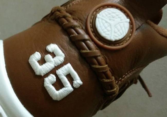 Baseball Glove Air Jordan 9 Brown Leather