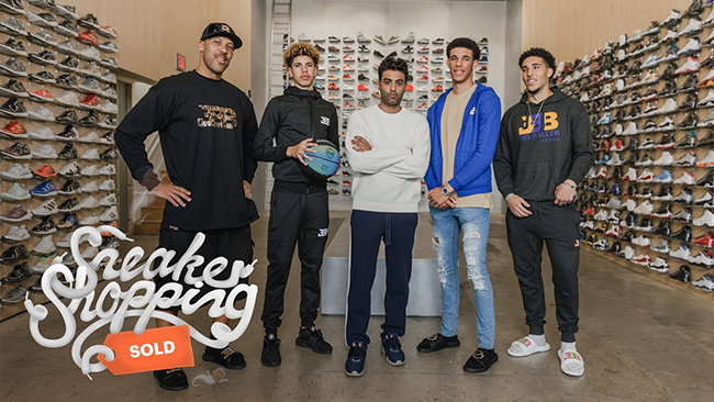 Big Baller Family Sneaker Shopping