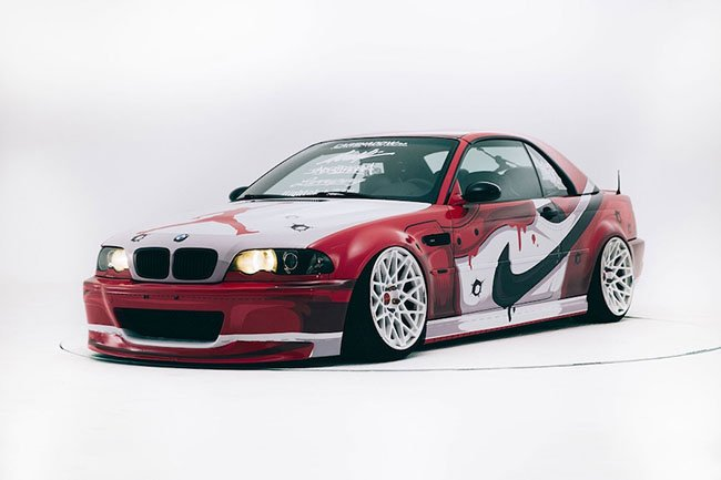BMW M3 Air Jordan 1 Chicago Custom