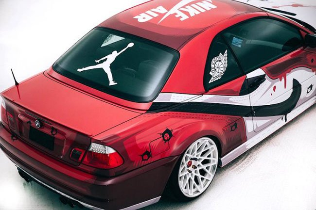 BMW M3 Air Jordan 1 Chicago Custom