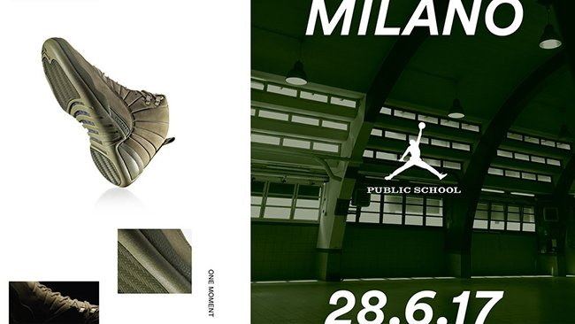 Buy PSNY Air Jordan 12 NYC Milan Paris