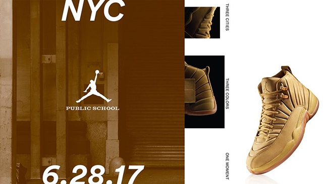 Buy PSNY Air Jordan 12 NYC Milan Paris
