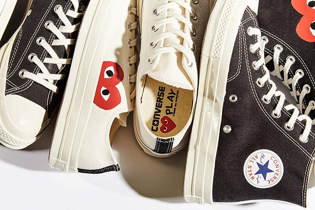 115439cb844 Comme des Garcons Play x Converse Chuck Taylor | SneakerFiles
