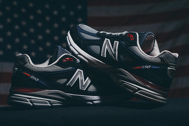 DTLR New Balance 990 Stars and Stripes