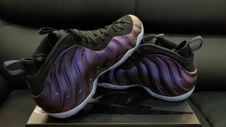 Eggplant Nike Foamposite One Retro 2017