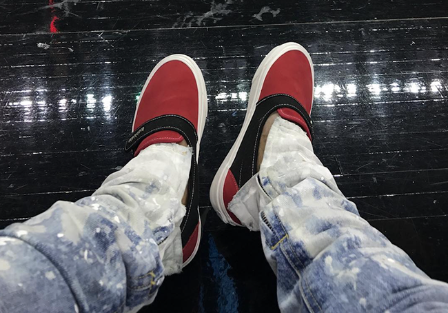 Fear of God Vans Christmas 2017 Release Date