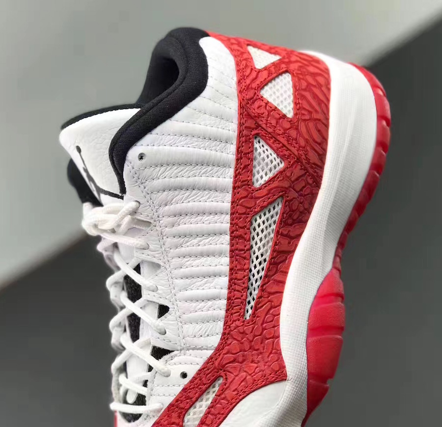 Fire Red Air Jordan 11 Low IE 919712-101