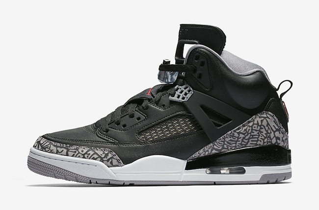 Jordan Spizike Black Cement July 2017
